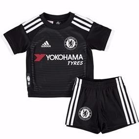 54c9262111 Conjunto Camiseta Short Chelsea Titular - Camisetas e Blusas no ...