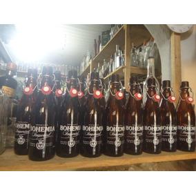 12 Garrafa Vazia De Cerveja Artesanal Bohemia 550ml