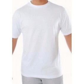 Kit 10 Camisas Brancas Para Sublimação Lisa 100% Poliester