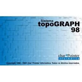Programa Topograph 98 Segunda Edição Completo