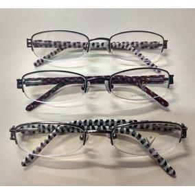 Armação P  Óculos De Grau Borda Finíssima Marca Designer - Óculos no ... 73675a1ec1