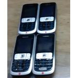 Lote 04 Aparelhos Celular Nokia 2630 Usado - Funcionando