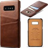 Capa Case Galaxy S10 Plus Couro Vintage Flip Cartões Premium