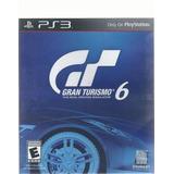 Gran Turismo 6 Para Play Station 3