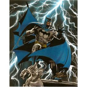 Poster Sideshow Dc Batman Autografado Por Neal Adams