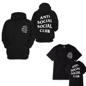 Kit Moletom Blusão + Camiseta Anti Club Social!!