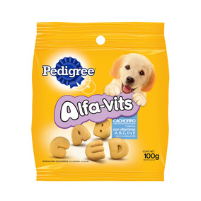 Pedigree Puppy Alfavits Galleta Botana Cachorro 12/100g