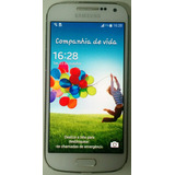 Samsung Galaxy S4 Mini Duos Branc 8gb 3g 2 Chip Nfe Seminovo