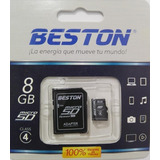 Memoria Micro Sd 8gb Beston Clase 4 ¡¡promo¡¡
