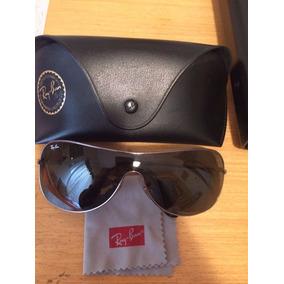 acf0bb1e21bff Óculos De Sol Ray Ban Rb 3211 Preto Com Lentes Fume - Óculos no ...