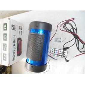 Corneta Portatil Coneccion Usb Mp3 Radio