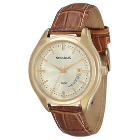 Relógio Seculus 2 Anos Garantia Calendário 20216gpsvdc3