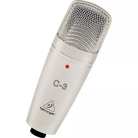 Micrófono De Condensador Behringer C-3 + Garantía