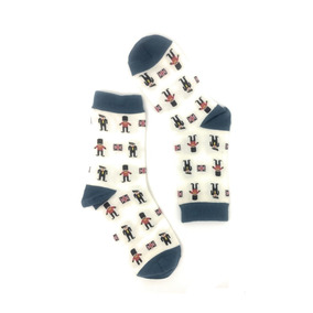 Calcetines Hombre Divertido Diseño Soldaditos Cal25 Sarosa