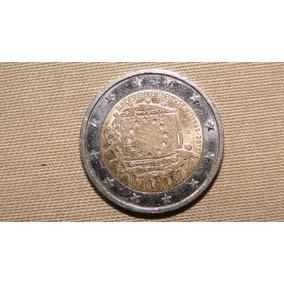 Moeda Belíssima De Dois Euros Comemorativa República Alemã