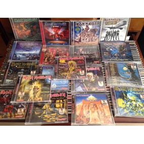Iron Maiden Coleção Gala Records 18 Cds Amolad Rocks Promo