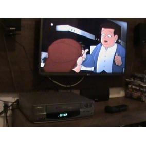 Video Cassete Philco4 Cabeças Auto Com Controle