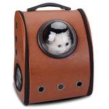 Mochila Con Ojal Y Cápsula Espacial Respirable Para Mascota