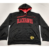 Buzo Chicago Blackhawks Hockey Nhl Talle L Negro Sintetico 5325450661a
