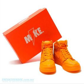 24 Mex - Air Jordan 1 Retro Gatorade Orange Envio Gratis