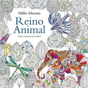 Livro De Colorir Reino Animal Primeira Edição