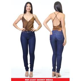 f35abe2fb Calça Skinny Jeans Feminina Azul Biotipo C/ Elastano Premium