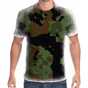 Camiseta Camuflada Personalizada - Camisetas no Mercado Livre Brasil 8bcd0eb4eaa