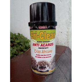 Eri Clean Anti Acaros Erizo Africano Natural 120 Ml Nueva Pr