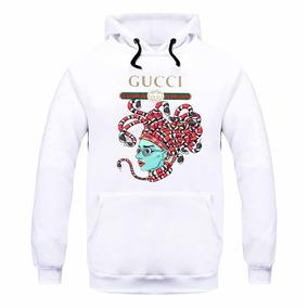 Blusa Moletom Gucci Cobra Medusa Casaco 2e1e8e191f0