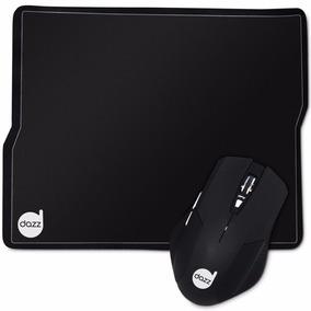 Combo Gamer Dazz Tiglon Mouse 3200 Dpi + Mousepad 62168-6