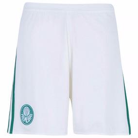 Calção Shot Real Madrid Branco Verde Adidas Original G Gg - Shorts ... c834a2ccbd817