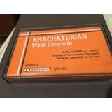 Cassette Khachaturian Concierto De Violín