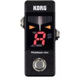 Pedal Afinador Korg Pitch Black Mini