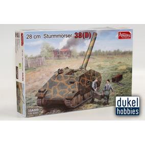 Amusing 1/35 28cm Sturmmorser 38d (35a009) Dukel Hobbies