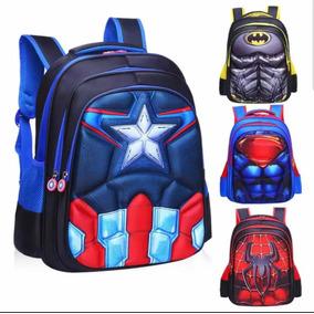 Mochila Súper Héroes Avengers Capitán América No Chenson