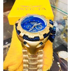Relógios Invicta Dourado De Luxo