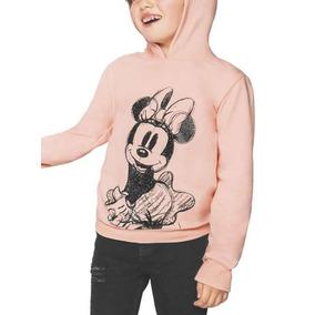 Sudadera Para Niña Minnie Mouse Licencia Original Disney
