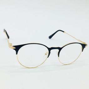 9e4e8353a544b Oculos Redondo Sem Grau Preto Barato - Óculos no Mercado Livre Brasil