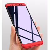 Forro Funda Estuche 360 De Lujo Samsung A6 Plus 2018