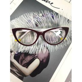 d3abaac22877a Armacao Oculos Feminino Degradê Vinho - Óculos no Mercado Livre Brasil