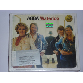 Abba Waterloo-ed.40 Aniversario Deluxe Cd + Dvd-nuevo