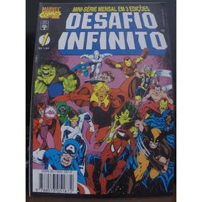 Desafio Infinito & Guerra Infinita (06 Hqs)