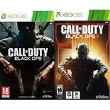 Call-of-duty-black-ops 1 Y 3 X-box 360