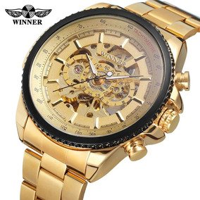 4e4e9a989c3 Relógios Automaticos Com Maquinario A Mostra - Relógios no Mercado ...