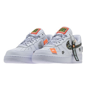 sports shoes 42f20 98605 Tenis Nike Air Force One Just Do It Blanca Hombre, Zapatilla