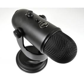 Microfone Blue Yeti Black Condensador Usb Até Windows 10