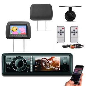 Dvd Player Htech 3 Polegadas Bluetooth + 2 Encostos Grafite