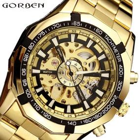 Relógio Dourado Barato
