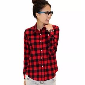 14 Modelos Blusa Camisa Feminina Estampa Xadrez Importada