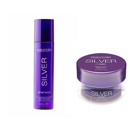 Linha Silver Shampoo 250ml & Mask 200ml Ponto9